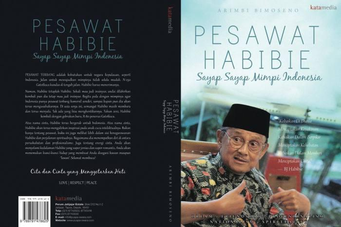 Buku Pesawat Habibie Sayap-sayap Mimpi Indonesia