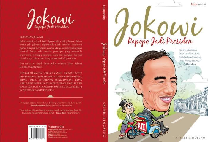 Buku JOKOWI Rapopo Jadi Presiden